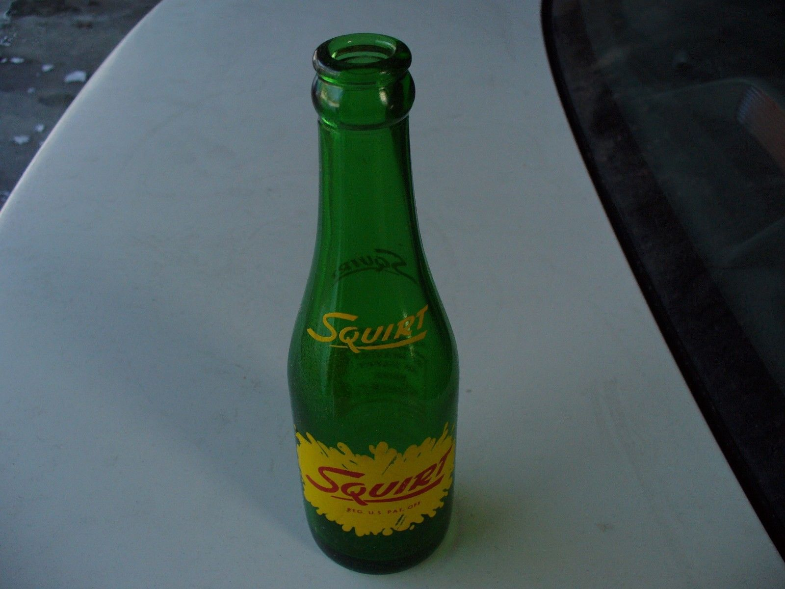Moxie Soda Green Bottle 7 oz