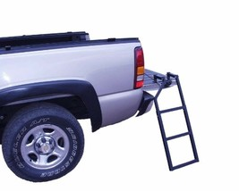 Ground Support Sturdy Easy Install Tail Gate Step Ladder 300 Pound Capacity - $42.81