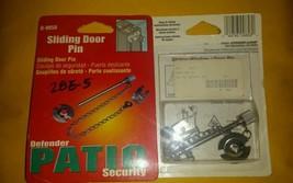 Prime Line U - 9858 Sliding Door Pin Defender Patio Security (NIP) - $6.44