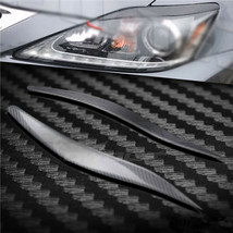 Carbon Fiber Car Headlight Cover Eyebrows Eyelid Trim  Decals For Lexus ... - $69.29