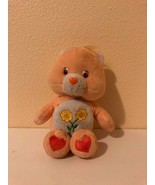 "Plush Care Bears Friend Bear 8"" Play Along 2002 - $4.24"