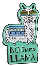 Stickeroonie No Drama Llama with Sunglasses Enamel Lapel Pin, 1.2 Inches - $16.40