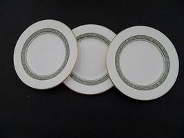 Royal Doulton English Fine Bone China Rondelay H5004 Three Bread & Butte... - $14.84