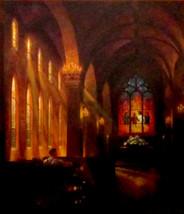 SunsOut Mark Keathley Sanctuary of Peace 1000 pc Jigsaw Puzzle Church  - $15.83