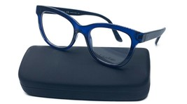 Calvin Klein Women's Blue Shiny Glasses with case CK 5909 438 51mm - $73.99