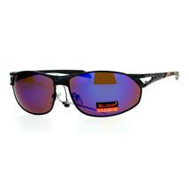 Xloop Mens Fashion Sunglasses Oval Metal Frame Camouflage Print UV 400 - $10.95