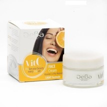 Deba Face Day Cream & Night Cream Formula Vitamin C 50 Ml - $7.19