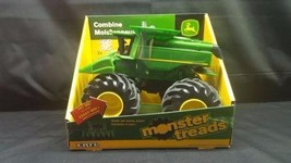 New ERTL John Deere Green Monster Treads Combine Shake & Sounds Action A... - $24.25