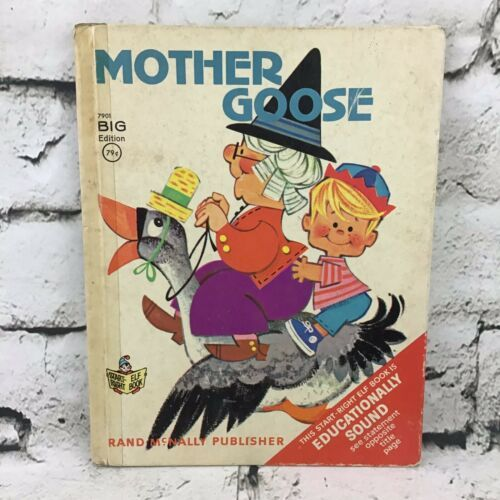 Vintage 1967 Mother Goose By Rand McNally A Start Right Elf Book