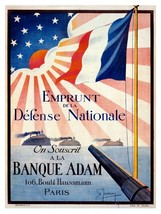 9415.Emprunt de la defense national.war with japan.POSTER.decor Home Off... - $10.89+