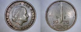 1975 Netherlands 1 Cent World Coin - $3.49