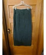 CJ Banks Size 10 Green Skirt Long Modest Christopher - $18.97