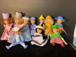 Lot Of 10 Madame Alexander McDonalds Dolls - $20.00