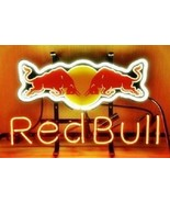 "Red Bull Energy Drink Neon Sign 14""x10"" Beer Bar Light Artwork Man Cave ... - $59.83"