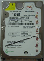 NEW RARE 120GB IDE 2.5 inch Hard Drive MDT MD01200-AVEW-R0 Free USA Shipping