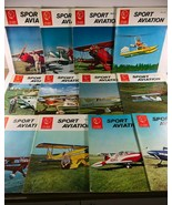 Vintage EAA SPORT AVIATION Complete Year Monthly Magazine 1964 - $34.64