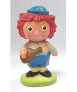 Vintage Raggedy Ann Andy Figurine MADE IN JAPAN Boy Friend Doll Big Eyes... - $18.00