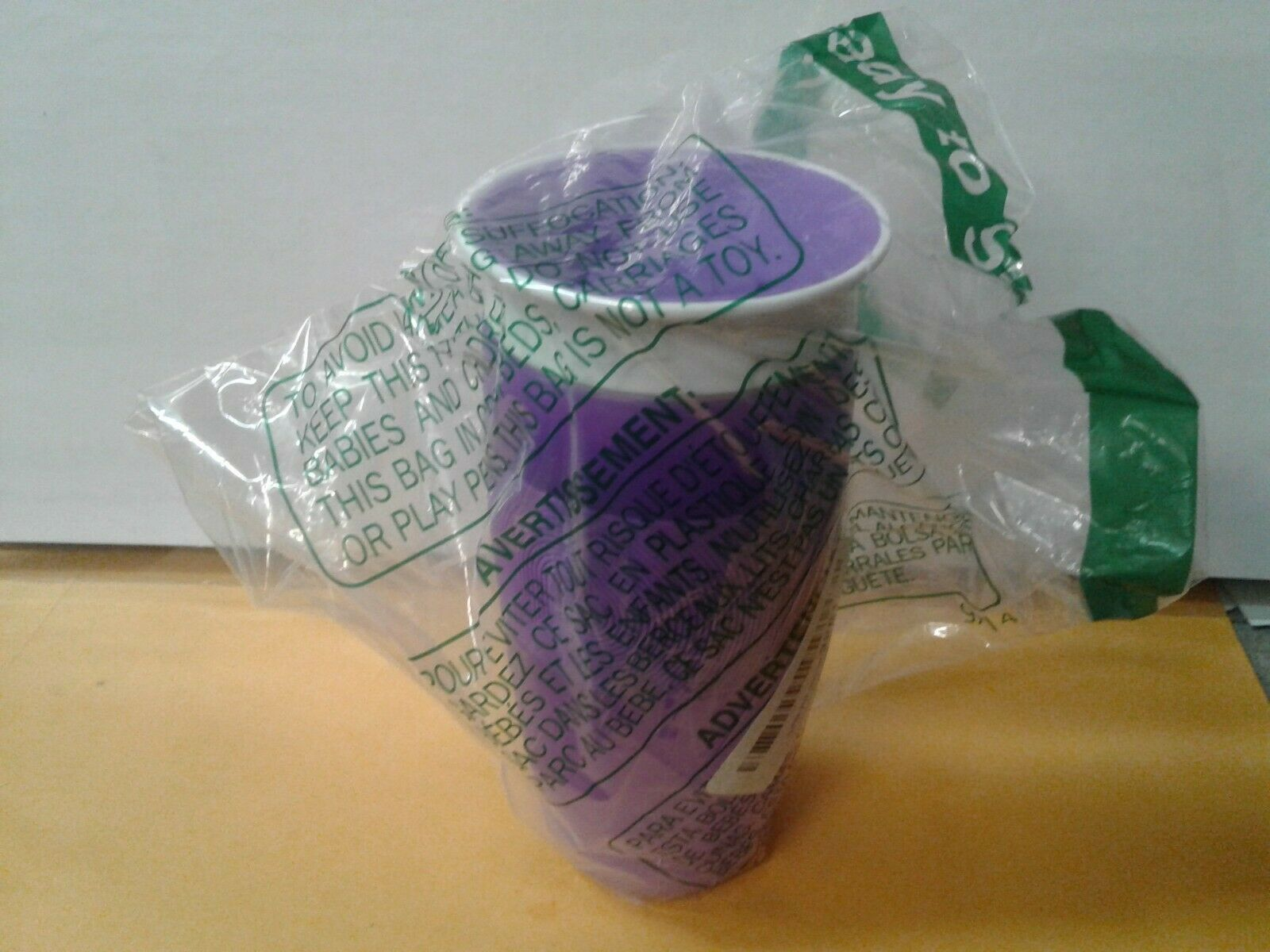 Baby Feeding Munchkin Miracle 360 Sippy Cup Purple 14 Ounce Dishwasher Safe New