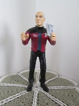 "Captain Jean-Luc Picard posable w/recording 1995 Playmate Toys 7"" tall  (b) - $7.70"
