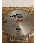 """12"""" Carbide Rescue Saw Blade 12T 1"""" Bore King Carbide 70116 - $24.70"""