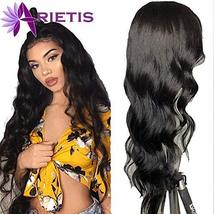 ARIETIS Hair Body Wave Lace Front Human Hair Wigs for Black Women 10 inch 150% D image 5