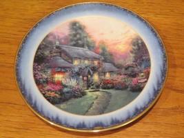 Thomas Kinkade Julianne's Cottage Peaceful Retreats Lenox Plate - $34.65