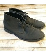 Perry Ellis Men Chukka Suede Faux Leather Size 11 - $15.35