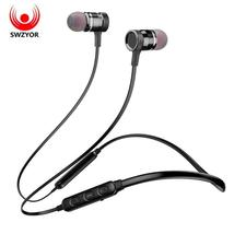 SWZYOR LY-16 Neckband Bluetooth Earphone Wireless Headphone For Xiaomi i... - $25.42