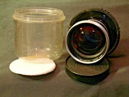 Carl Zeiss Pro-Tessar Lens f=115mm with fitted Zeiss Ikon Case AA-192033 Vintage image 7