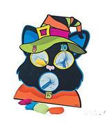 FE-OTC Halloween Harvest Game - Black Cat Bean Bag Toss - £21.17 GBP