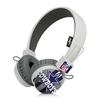 Cowboys Bluetooth, FM Radio, Sd Card Headphones White - $26.00