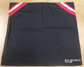 "Native American Shawl Child's Girl's Black Patchwork HandMade 41"" x 59"" - $29.99"