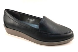 A2 by Aerosoles Clever Black Wedge Slip On Loafers - $54.00