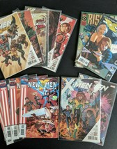 X- Men Gold, Blue, Academy, Ultimate Comic Book Lot + Extras Bishop - $14.80
