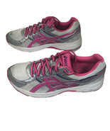 Asics Gel-Contend 3 Silver Pink White Running Shoes T5F9N - Women's Size 10 - $32.73