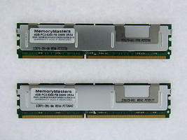 NOT FOR PC! 8GB 2x4GB PC2-5300 ECC FB-DIMM FOR Dell PowerEdge 2950 Server TESTED