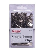 Annie Single Prong Clips Hair Pins Wave Clamps Alligator Duck Bill 80CT ... - $9.85