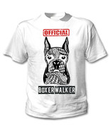 Boxer - official walker - NEW COTTON WHITE TSHIRT - $19.53