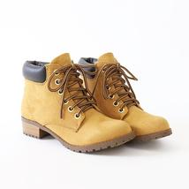 equity blond Faux bubuck chukka ankle boots - $32.99