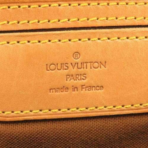 LOUIS VUITTON Flanerie 45 Monogram Canvas Shoulder Bag M51115 France Authentic image 11