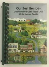 WINTER HAVEN FL 1997 Garden Grove Oaks Social Club VINTAGE LOCAL COOK BOOK - $10.83