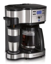 12 Cup Coffee Maker Programmable 2 Way Brewer In Advance Wake Up No Long... - €60,33 EUR
