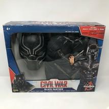 Marvel Black Panther Kids Costume Sz 4-6 Captain America Civil War Superhero - $37.86