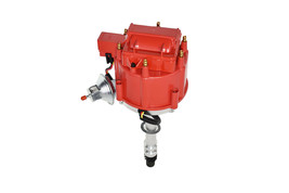 CHEVY GMC 4.3L V-6 HEI020R HEI Distributor with Red Cover Super Cap