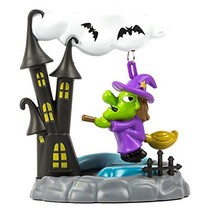 Solar Powered Swinging Witch with House - $8.34