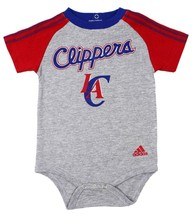 NEW NWT ADIDAS NBA INFANT BABY TODDLER 3 PIECE CREEPER SET LOS ANGELES CLIPPERS image 2