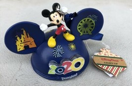 Disney Parks 2020 Mickey Mouse Light-Up Ear Hat Christmas Ornament - $26.95
