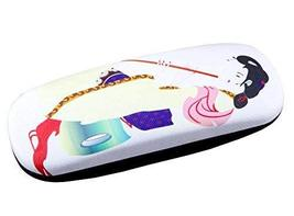 Ancient Chinese Beauty Hard Eyeglasses Case Glasses Protective Holder Le... - $16.43