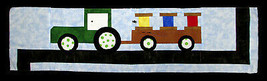 "Row by Row 2017 ""On the Go"" Tractor Farming Quilt - Sold by the Kit M401... - $12.97"