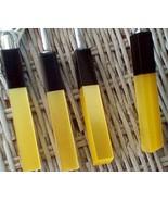 Lucite Barware/Drink Mix Set. Vintage Yellow & Black Handle. Made in Jap... - $25.00
